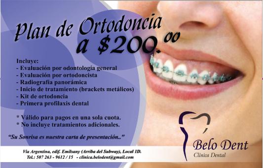 Plan De Ortodoncia A Solo 200 186 186 En Belo Dent Clinica Dental Promodescuentos Panam 225