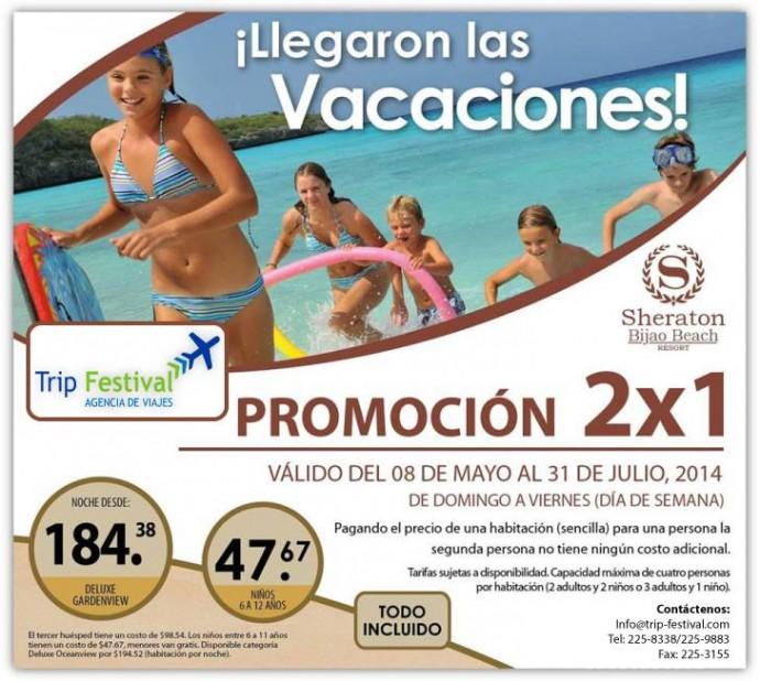 Sheraton Bijao Beach Resort Promoci 242 N 2 X 1 Promodescuentos Panam 225