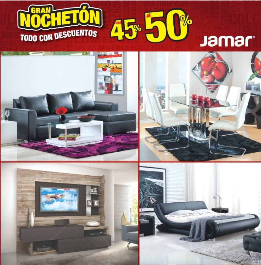 Muebles jamar con 50 de descuento promodescuentos panam for Muebles namar