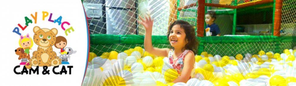 Play Place Cam & Cat es un divertido parque infantil con divertidos juegos y actividades para tus hijos