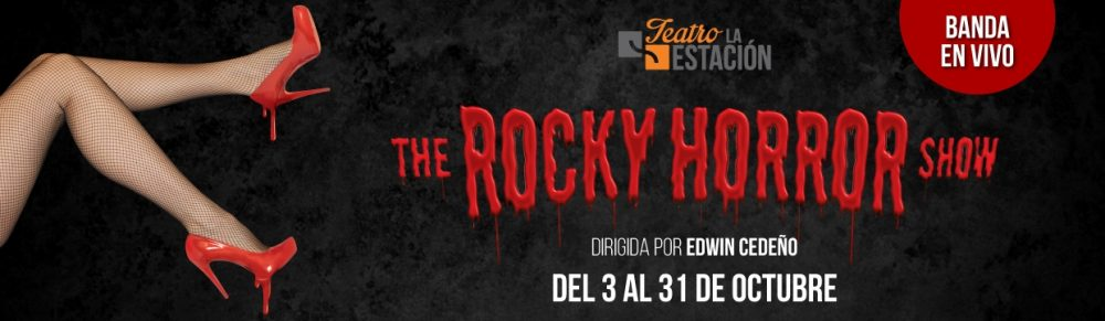 "Paga $25 por 2 boletos para la comedia musical ""The Rocky Horror Show"" en el Teatro La Estación (Valor $50"